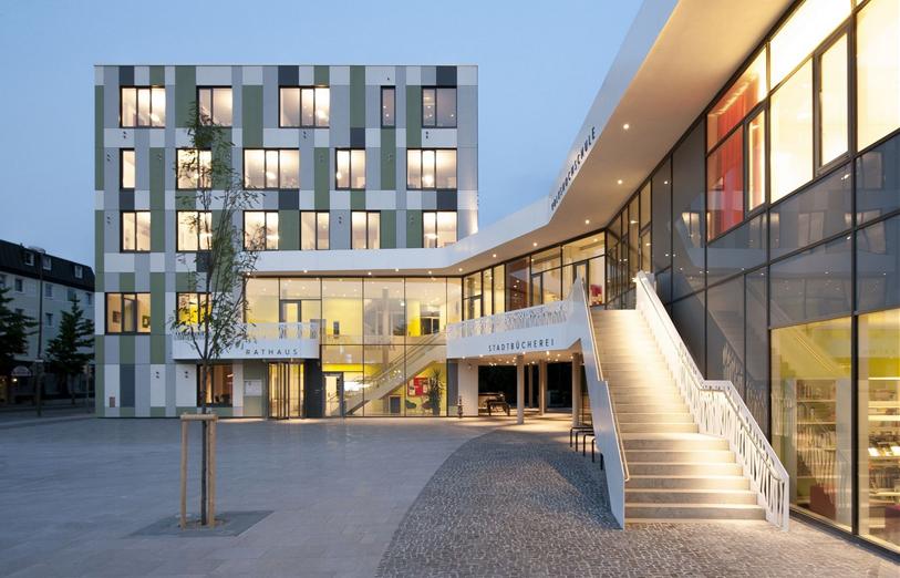 Architekturbüro Sindelfingen behnisch architekten stuttgart architekten baunetz architekten