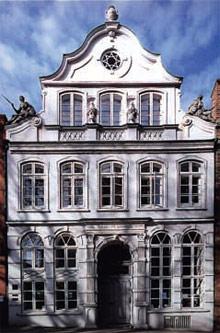 Historische Vorderfassade